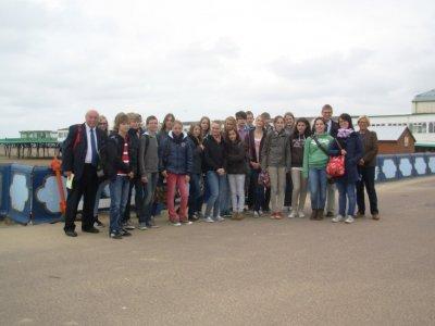 LSA Twinning Association School Exchange 2012, Pupils from Werne
