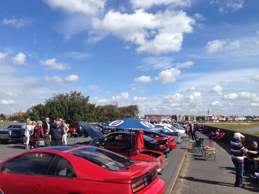 Classic car show at Fairhaven Lake. Photo: James Brookes