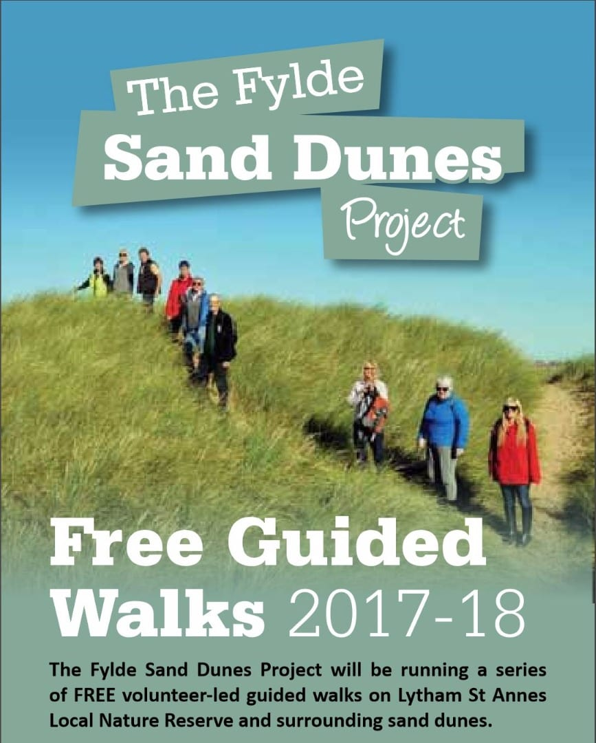 St Annes Sand Dunes Guided Walks 2017-18