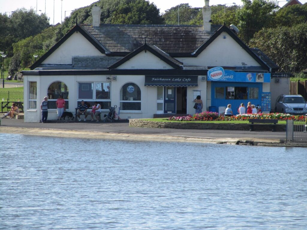 Fairhaven Lake cafe