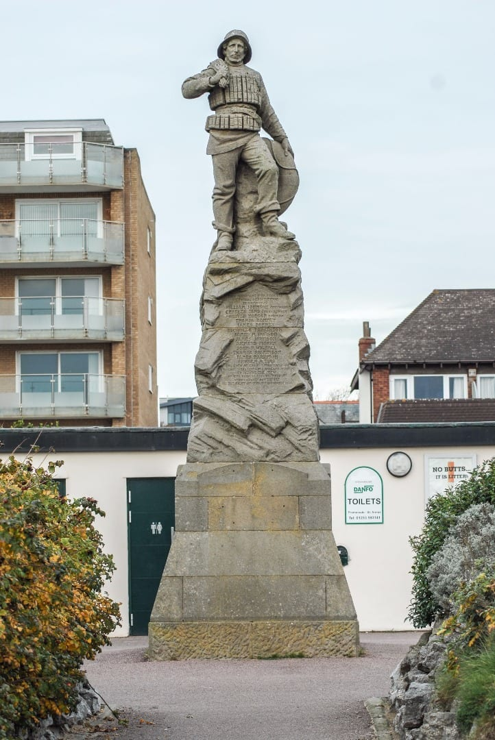Memorial to the Mexico Lifeboat Disaster at St Annes