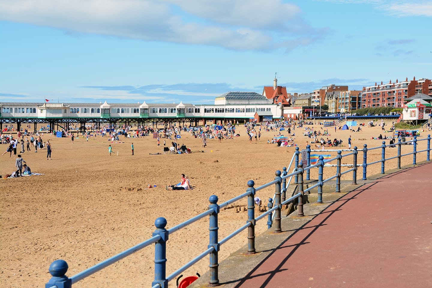 St Annes seafront - the beach and pier