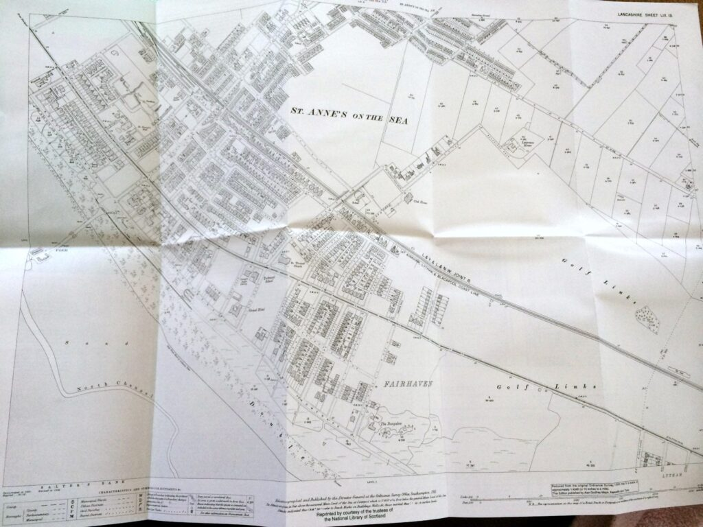 See the growth of St Annes with the help of a 1909 map