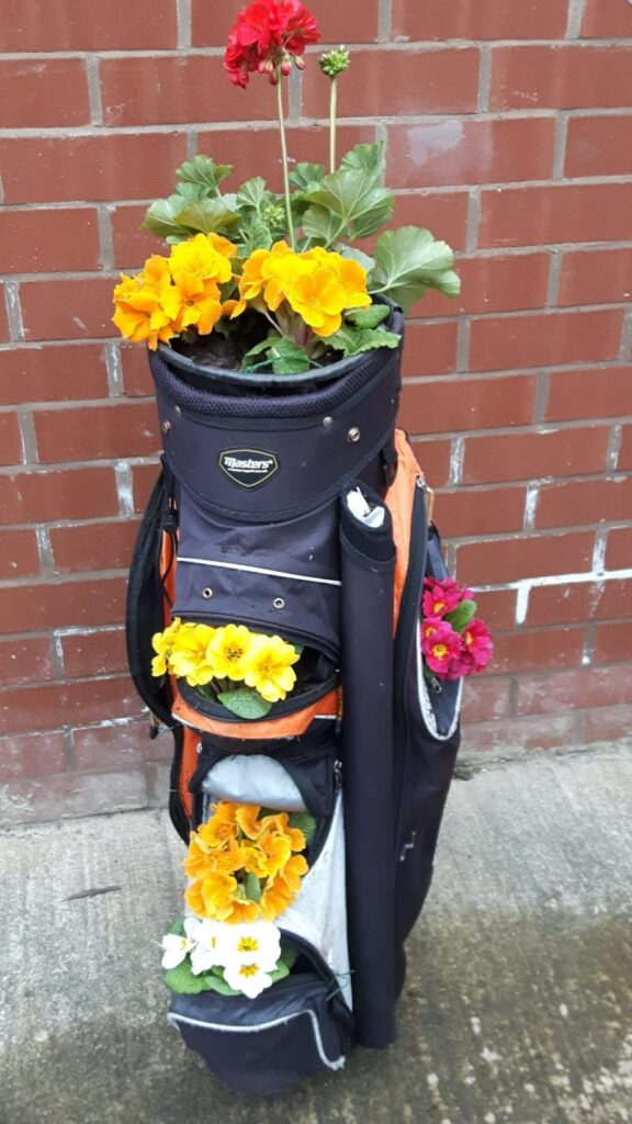 Old golf bags wanted by St Annes in Bloom