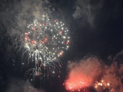 Fireworks at St Annes Cricket Club