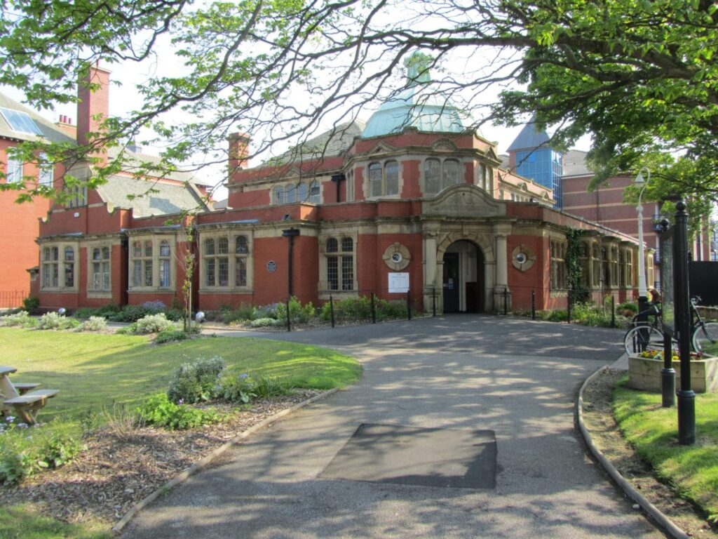 History of St Annes Library and garden